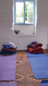 Pregnancy yoga studio Cornwall